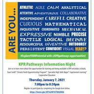 High School Pathways Virtual Information Night